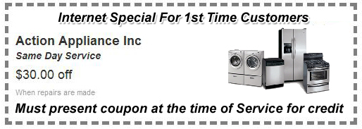 1st Time Customer Appliance Repair Coupon