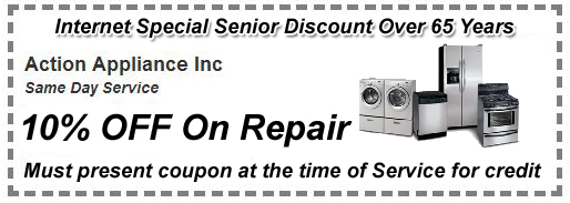Senior Customer Appliance Repair Coupon
